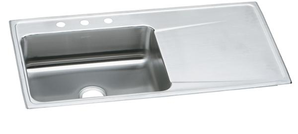 image for elkay lustertone stainless steel 43   x 22   x 7 5  elkay lustertone stainless steel 43 u0026 34  x 22 u0026 34  x 7 5 8 u0026 34      rh   elkay com