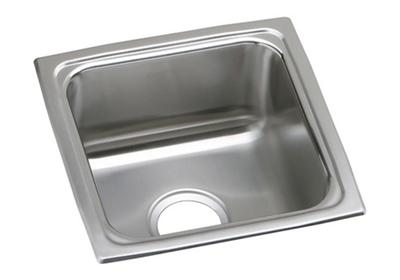 "Image for Elkay Lustertone Classic Stainless Steel 15"" x 15"" x 7-5/8"", Single Bowl Drop-in Bar Sink from ELKAY"