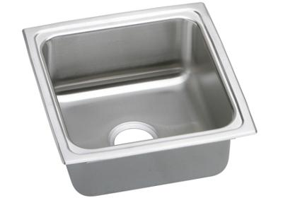 "Image for Elkay Lustertone Stainless Steel 17"" x 17-1/2"" x 7-5/8"", Single Bowl Top Mount Sink from ELKAY"