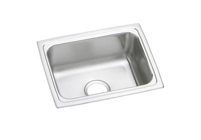 "Image for Elkay Lustertone Stainless Steel 25"" x 19-1/2"" x 5-1/2"", Single Bowl Top Mount ADA Sink from ELKAY"