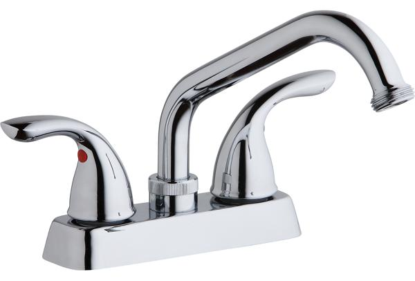 Charming Image For Elkay Everyday Laundry/Utility Deck Mount Faucet And Lever  Handles Chrome From ELKAY
