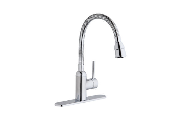 Pursuit Flexible Spout Laundry/Utility Faucet, Chrome