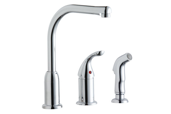 Everyday Kitchen Faucet with Remote Handle and Side Spray, Chrome