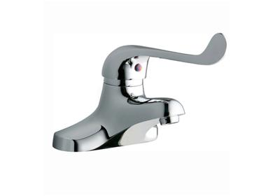"Image for Elkay 4"" Centerset with Exposed Deck Lavatory Faucet Integral Spout Single Control 7"" Wristblade Handle Chrome from ELKAY"
