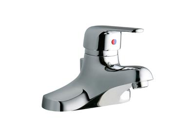"Image for Elkay 4"" Centerset with Exposed Deck Lavatory Faucet Pop-Up Drain Integral Spout Single Control 4"" Wristblade Handle from ELKAY"