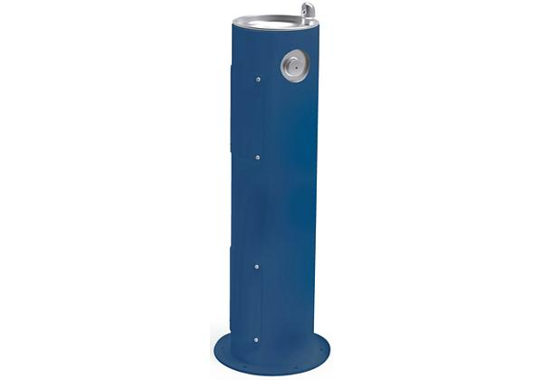 Image for Halsey Taylor Endura II Tubular Outdoor Fountain, Pedestal Non-Filtered Non-Refrigerated, Blue from Halsey Taylor