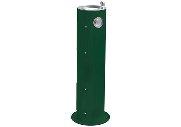 Image for Halsey Taylor EnduraII Tubular Outdoor Fountain, Pedestal, Non-Filtered, Non-Refrigerated, Evergreen from Halsey Taylor