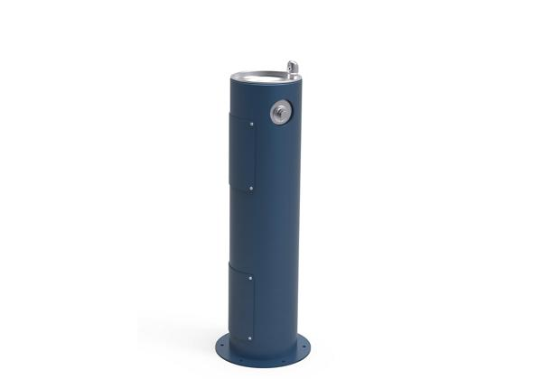 Image for Halsey Taylor Endura II Tubular Outdoor Fountain, Pedestal Non-Filtered Non-Refrigerated Freeze Resistant, Blue from Halsey Taylor