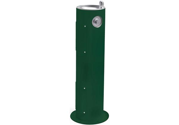 Image for Halsey Taylor Endura II Tubular Outdoor Fountain, Pedestal Non-Filtered Non-Refrigerated Freeze Resistant, Evergreen from Halsey Taylor