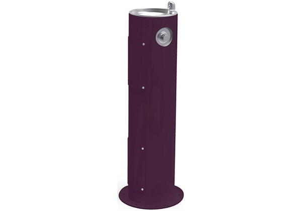 Image for Halsey Taylor EnduraII Tubular Outdoor Fountain, Pedestal, Non-Filtered, Non-Refrigerated, Freeze Resistant, Purple from Halsey Taylor
