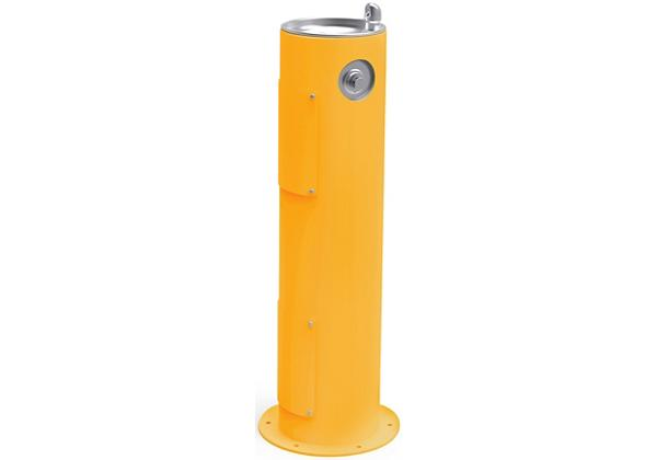 Image for Halsey Taylor Endura II Tubular Outdoor Fountain, Pedestal Non-Filtered Non-Refrigerated Freeze Resistant, Yellow from Halsey Taylor
