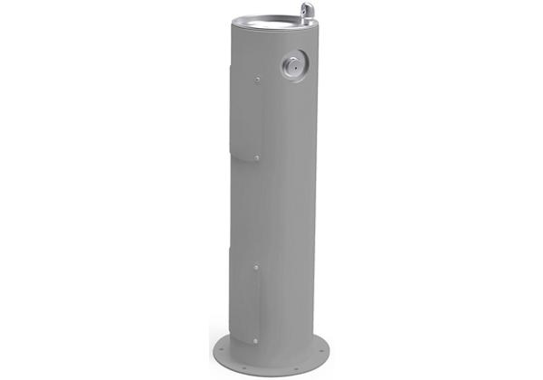 Image for Halsey Taylor Endura II Tubular Outdoor Fountain, Pedestal Non-Filtered Non-Refrigerated, Gray from Halsey Taylor