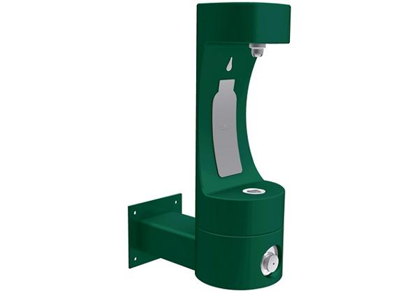 Image for Halsey Taylor Endura II Outdoor HydroBoost Bottle Filling, Station Wall Mount Non-Filtered Non-refrigerated, Evergreen from Halsey Taylor