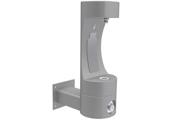 Image for Halsey Taylor Endura II Outdoor HydroBoost Bottle Filling Station, Wall Mount, Non-Filtered, Non-refrigerated, Gray from Halsey Taylor