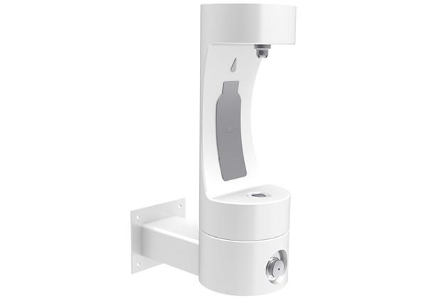 Image for Halsey Taylor Endura II Outdoor HydroBoost Bottle Filling Station, Wall Mount, Non-Filtered, Non-refrigerated, White from Halsey Taylor
