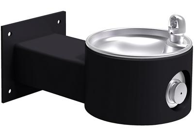 Image for Elkay Outdoor Fountain Wall Mount, Non-Filtered Non-Refrigerated, Black from ELKAY