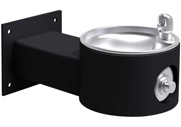 Image for Elkay Outdoor Fountain Wall Mount Non-Filtered, Non-Refrigerated Freeze Resistant Black from Elkay Asia Pacific
