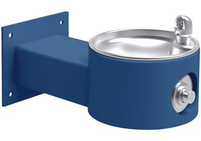 Image for Elkay Outdoor Fountain Wall Mount Non-Filtered, Non-Refrigerated Freeze Resistant Blue from ELKAY
