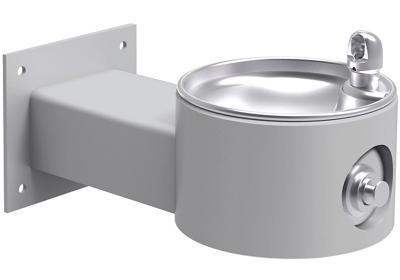 Image for Elkay Outdoor Fountain Wall Mount Non-Filtered, Non-Refrigerated Freeze Resistant Gray from ELKAY