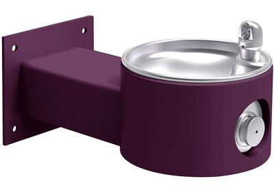 Image for Elkay Outdoor Fountain Wall Mount, Non-Filtered Non-Refrigerated, Purple from ELKAY