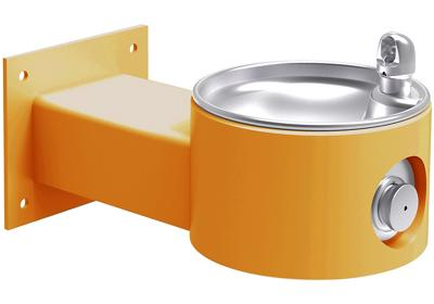 Image for Elkay Outdoor Fountain Wall Mount, Non-Filtered Non-Refrigerated, Yellow from ELKAY