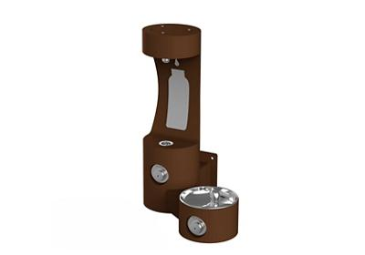 Image for Elkay Outdoor EZH2O Bottle Filling Station Wall Mount, Non-Filtered Non-Refrigerated, Brown from ELKAY