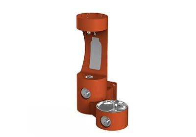 Image for Elkay Outdoor EZH2O Bottle Filling Station Wall Mount, Non-Filtered Non-Refrigerated, Terracotta from ELKAY