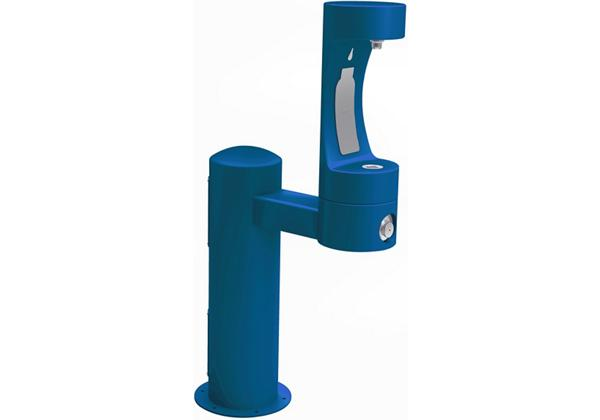 Image for Elkay Outdoor EZH2O Bottle Filling Station Pedestal, Non-Filtered Non-Refrigerated Blue from Elkay Europe and Africa