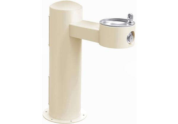 Image for Halsey Taylor Endura II Tubular Outdoor Fountain, Pedestal Non-Filtered Non-Refrigerated, Beige from Halsey Taylor