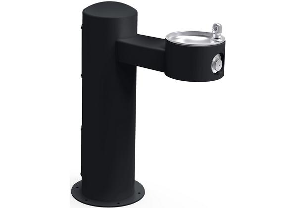 Image for Halsey Taylor Endura II Tubular Outdoor Fountain, Pedestal Non-Filtered Non-Refrigerated, Black from Halsey Taylor