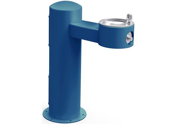 Image for Elkay Outdoor Fountain Pedestal Non-Filtered, Non-Refrigerated Freeze Resistant Blue from Elkay Asia Pacific