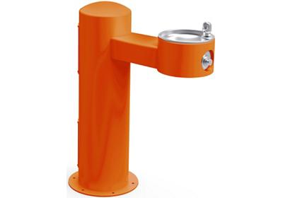 Image for Elkay Outdoor Fountain Pedestal Non-Filtered Non-Refrigerated, Sanitary Freeze Resistant Orange from ELKAY