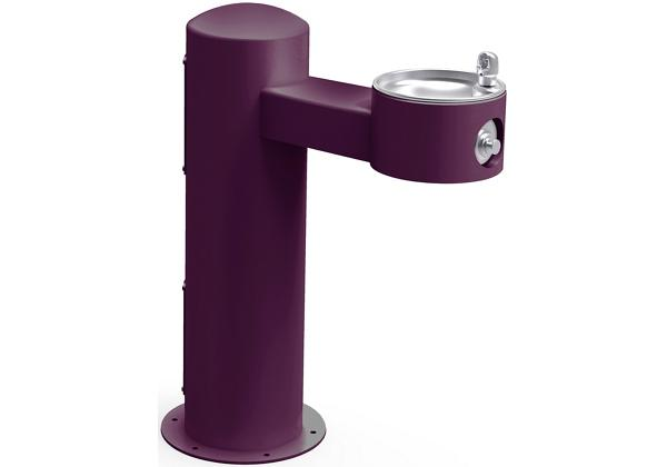 Image for Halsey Taylor Endura II Tubular Outdoor Fountain, Pedestal Non-Filtered Non-Refrigerated, Sanitary Freeze Resistant, Purple from Halsey Taylor