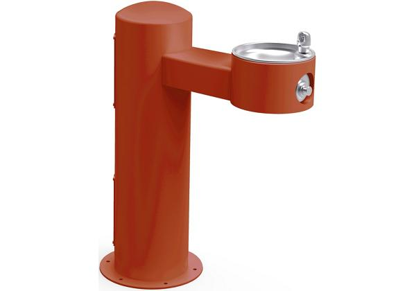 Image for Halsey Taylor Endura II Tubular Outdoor Fountain, Pedestal Non-Filtered Non-Refrigerated Freeze Resistant, Terracotta from Halsey Taylor