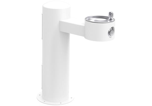 Image for Halsey Taylor Endura II Tubular Outdoor Fountain, Pedestal Non-Filtered Non-Refrigerated, White from Halsey Taylor