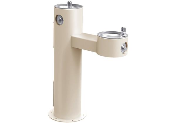 Image for Elkay Outdoor Fountain Bi-Level Pedestal Non-Filtered, Non-Refrigerated Freeze Resistant Beige from Elkay Asia Pacific