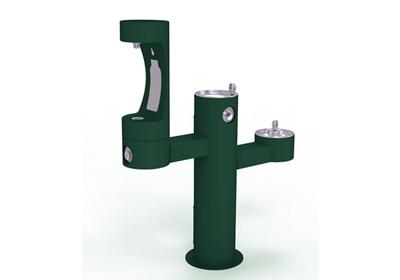 Image for Elkay Outdoor EZH2O Bottle Filling Station Tri-Level Pedestal, Non-Filtered Non-Refrigerated from ELKAY