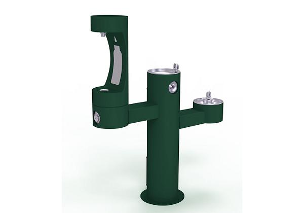 Image for Elkay Outdoor EZH2O Bottle Filling Station Tri-Level Pedestal, Non-Filtered Non-Refrigerated from Elkay Middle East