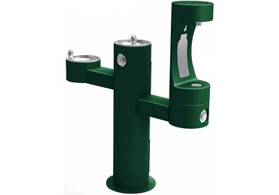 Image for Elkay Outdoor ezH2O Bottle Filling Station Tri-Level Pedestal, Non-Filtered Non-Refrigerated FR from ELKAY