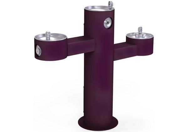 Image for Elkay Outdoor Fountain Tri-Level Pedestal Non-Filtered, Non-Refrigerated Purple from Elkay Asia Pacific