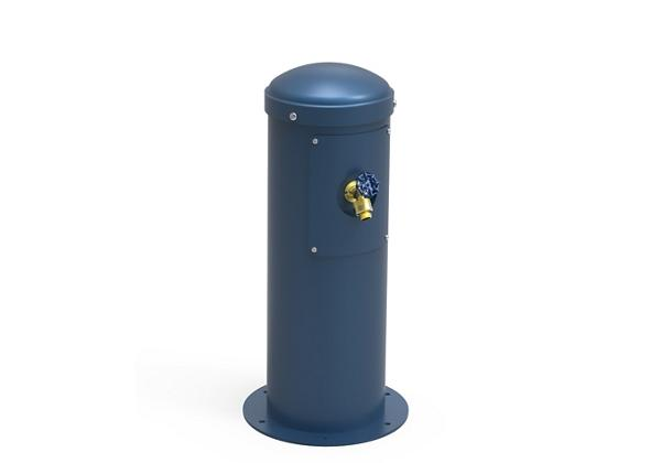 Image for Halsey Taylor Yard Hydrant with Hose Bib, Non-Filtered, Non-Refrigerated, Blue from Halsey Taylor