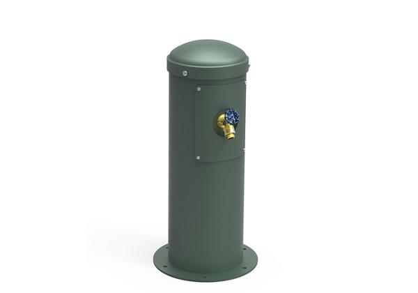 Image for Halsey Taylor Yard Hydrant with Hose Bib, Non-Filtered, Non-Refrigerated, Evergreen from Halsey Taylor