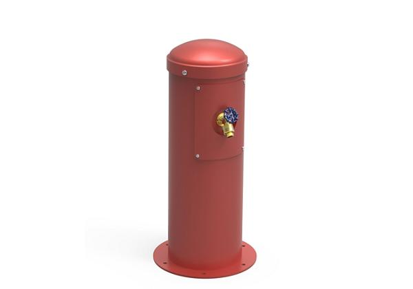 Image for Elkay Yard Hydrant with Hose Bib Non-Filtered Non-Refrigerated, Red from Elkay Asia Pacific