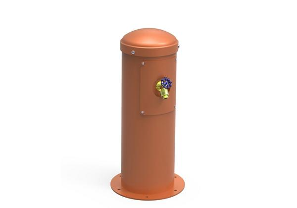Image for Halsey Taylor Yard Hydrant with Hose Bib, Non-Filtered, Non-Refrigerated, Terracotta from Halsey Taylor