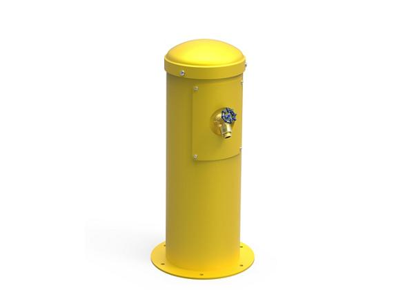 Image for Halsey Taylor Yard Hydrant with Hose Bib, Non-Filtered, Non-Refrigerated, Yellow from Halsey Taylor