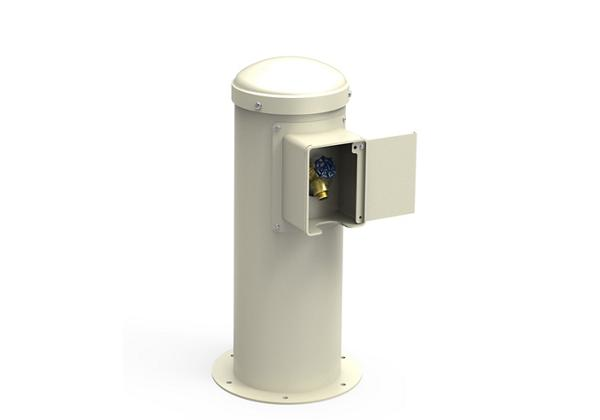 Image for Halsey Taylor Yard Hydrant with Locking Hose Bib, Non-Filtered, Non-Refrigerated, Beige from Halsey Taylor