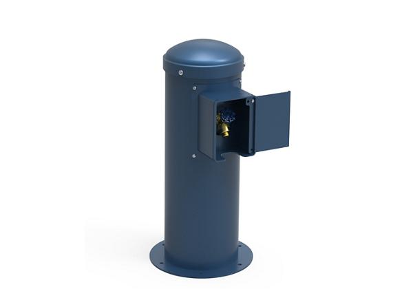 Image for Elkay Yard Hydrant with Locking Hose Bib Non-Filtered, Non-Refrigerated Blue from Elkay Asia Pacific