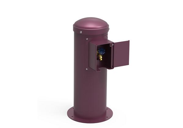Image for Halsey Taylor Yard Hydrant with Locking Hose Bib, Non-Filtered, Non-Refrigerated, Purple from Halsey Taylor
