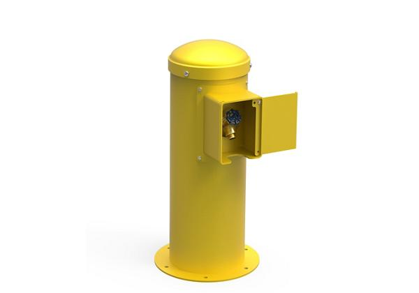 Image for Halsey Taylor Yard Hydrant with Locking Hose Bib, Non-Filtered, Non-Refrigerated, Yellow from Halsey Taylor