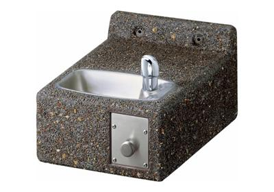 Image for Elkay Outdoor Stone Fountain Wall Mount, Non-Filtered Non-Refrigerated Freeze Resistant from ELKAY
